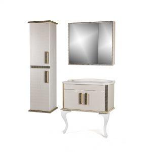 Square PVC  Bathroom Cabinets